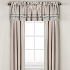 image of Wamsutta® Tapestry Window Curtain Panel Pair and Valance