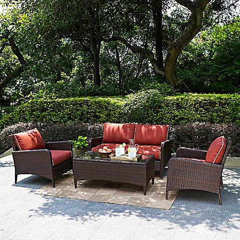 Crosley Kiawah Patio Furniture Collection Bed Bath Beyond