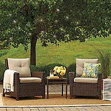 image of Barrington 3-Piece Wicker Club Chair Set