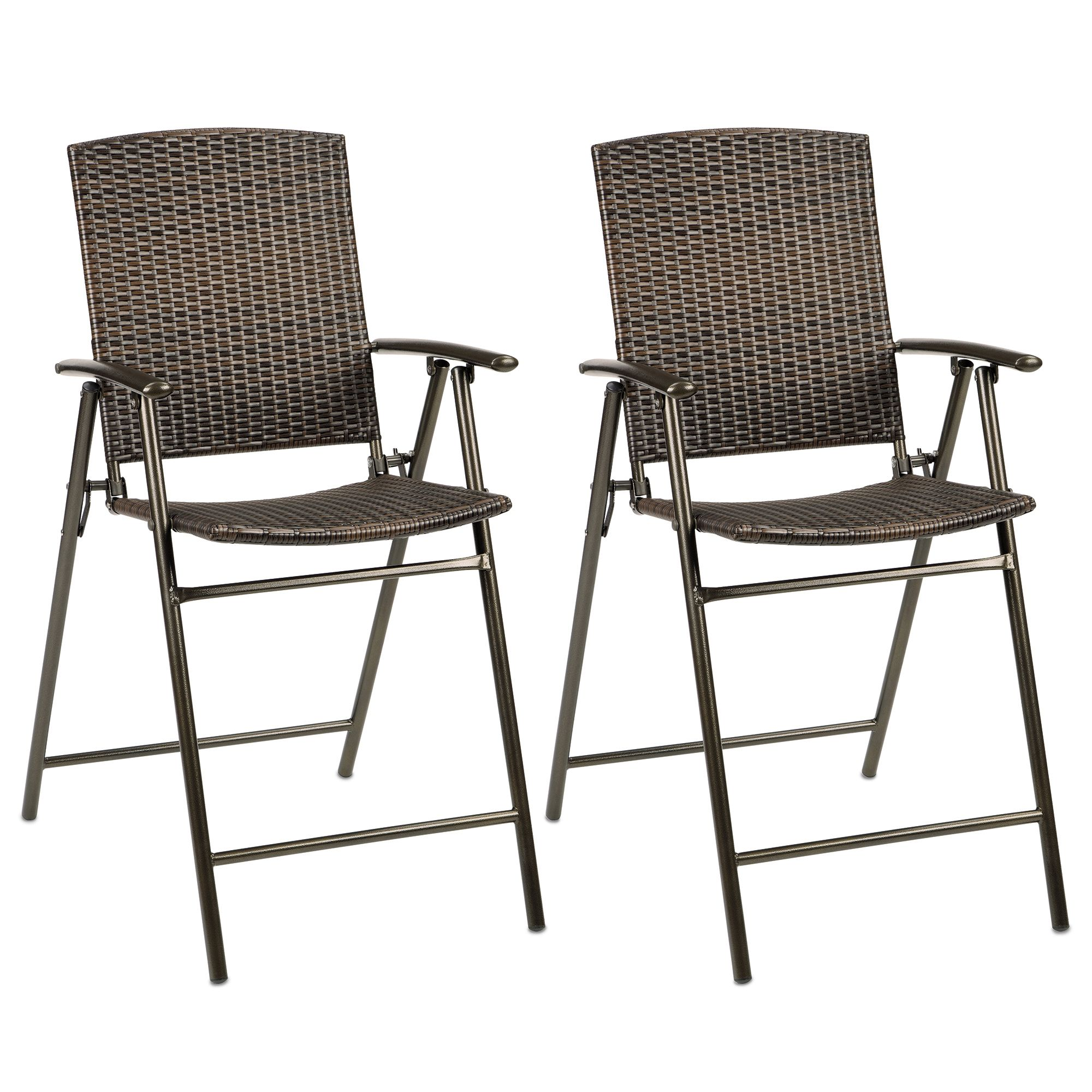 Stratford Wicker Folding Balcony Chair Set of 2 Bed Bath & Beyond