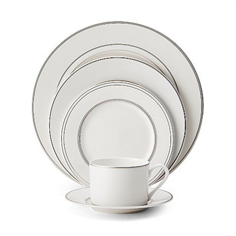 Mikasa cheers platinum dinnerware collection bed bath for Mikasa china