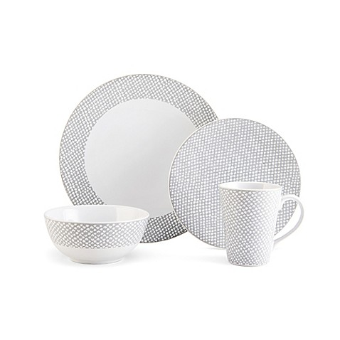 Mikasa® Avery Dots Dinnerware Collection - Bed Bath & Beyond