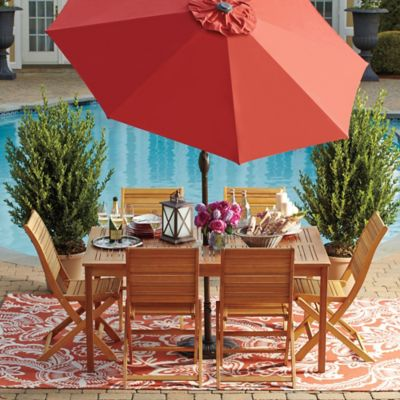 Westerly Acacia Wood Outdoor Patio Collection Bed Bath Beyond