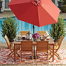 Image Of Westerly Acacia Wood Outdoor Patio Collection