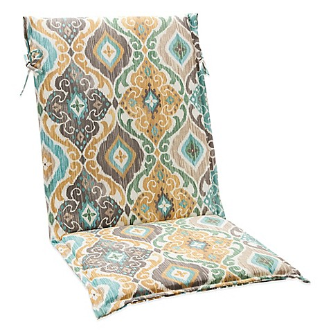 how to add ties to outdoor cushions