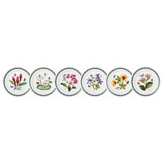 image of Portmeirion® Exotic Botanic Garden Assorted Dinner Plates (Set of 6)
