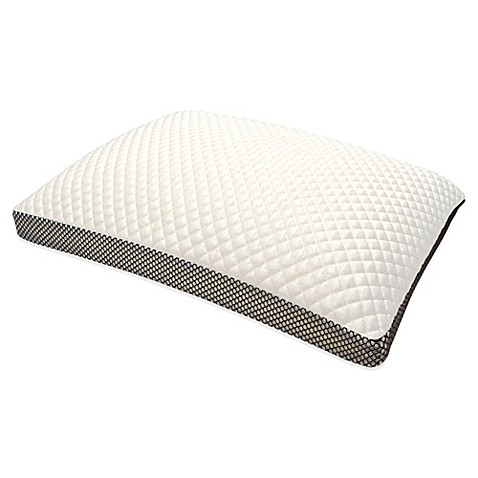 Therapedicr trucool memory foam side sleeper pillow bed for Best pillow for side sleepers bed bath and beyond
