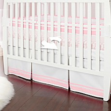 image of Just Born® Mix & Match Classic Collection Fresh Air Crib Liner in Barely Pink
