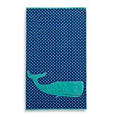 image of Whale Jacquard Beach Towel