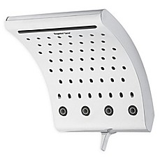 image of Oxygenics® Curve™ Fixed Showerhead in Chrome