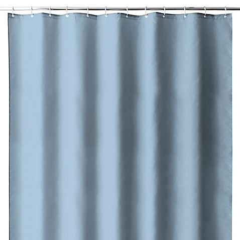 Hotel Fabric Shower Curtain Liner with Suction Cups - Bed Bath ...
