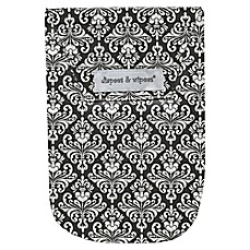 image of Diapees & Wipees Laminated Storage Bag with Wipes Case in Chic Damask