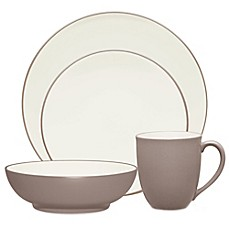 image of Noritake® Colorwave Coupe 4-Piece Place Setting in Clay