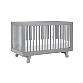 babyletto hudson 3in1 convertible crib in grey