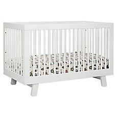 image of babyletto hudson 3in1 convertible crib in white