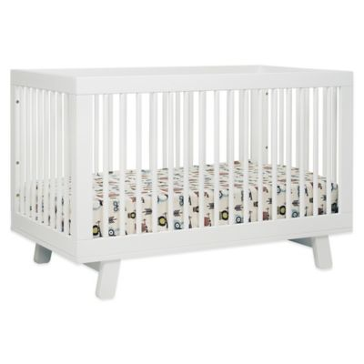 babyletto hudson 3in1 convertible crib in white