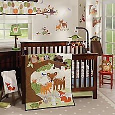 image of Lambs & Ivy® Woodland Tales Crib Bedding Collection