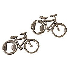 image of Kate Aspen® Let's Go On An Adventure Bicycle Bottle Opener