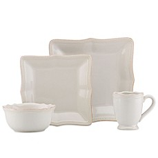 image of Lenox® French Perle Bead Dinnerware Collection  sc 1 st  Bed Bath \u0026 Beyond & White Dinnerware Porcelain Dinnerware Sets - Bed Bath \u0026 Beyond