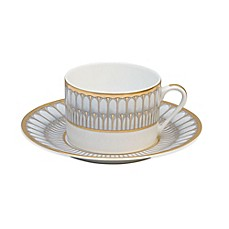 image of Philippe Deshoulieres Arcades Tea Saucer in Grey
