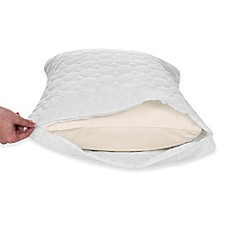 image of Remedy Bed Bug and Dust Mite Pillow Protector in White