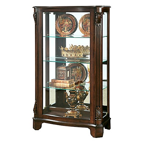 bathroom curio cabinet pulaski gilbraith mantel curio bed bath amp beyond 11465
