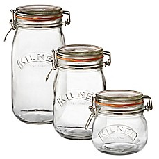 ball mason jar sizes. image of kilner® round clip top canning jar ball mason sizes