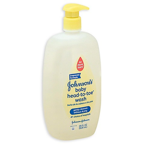 Johnson & Johnson® Head-to-Toe® 28 oz. Baby Wash