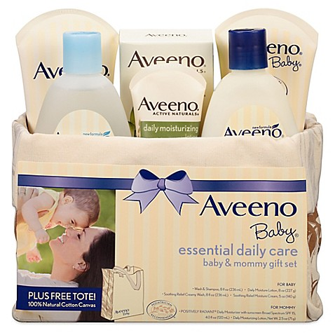 AVEENO® Baby Essential Daily Care Baby & Mommy Gift Set ...