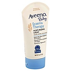image of AVEENO® 5 oz. Baby Eczema Therapy Moisturizing Cream