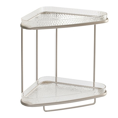 Unique InterDesign® Rain 2-Tier Vanity Shelf - Bed Bath & Beyond PO64