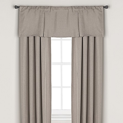 Bridgeport Rod Pocket/Back Tab Blackout Lining Window Curtain ...