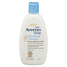 image of AVEENO® 8 oz. Baby Cleansing Therapy Moisturizing Wash