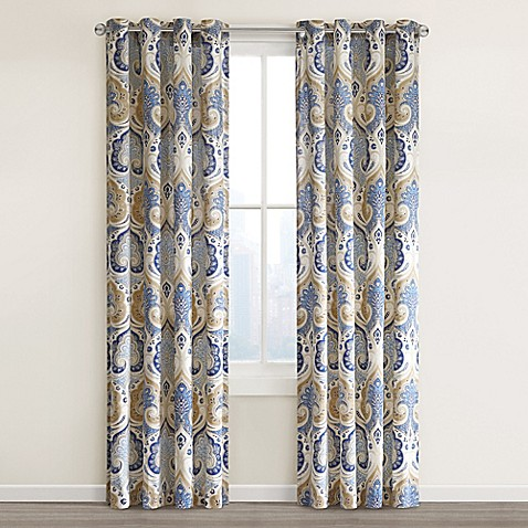 Very Echo Design™ Jaipur Grommet Top Window Curtain Panel - Bed Bath  TS38