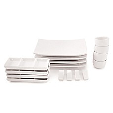 image of Maxwell & Williams™ White Basics 16-Piece Sushi Set