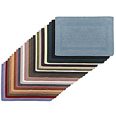 image of Wamsutta® Reversible Cotton Bath Rugs and Lids