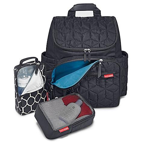 skip hop forma backpack diaper bag in black buybuy baby. Black Bedroom Furniture Sets. Home Design Ideas