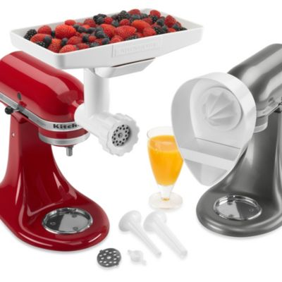 Alternate image 2 for KitchenAid® 4-Piece Attachment Pack