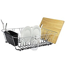 image of .ORG Large Dish Rack in Chrome
