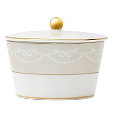 image of Monique Lhuillier Waterford® Cherish Covered Sugar Bowl