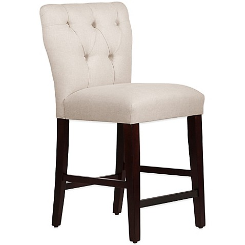 Skyline Furniture Violeta Tufted Hourglass Counter Stool