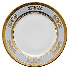 image of Philippe Deshoulieres Orsay Dessert Plate in Powder Blue