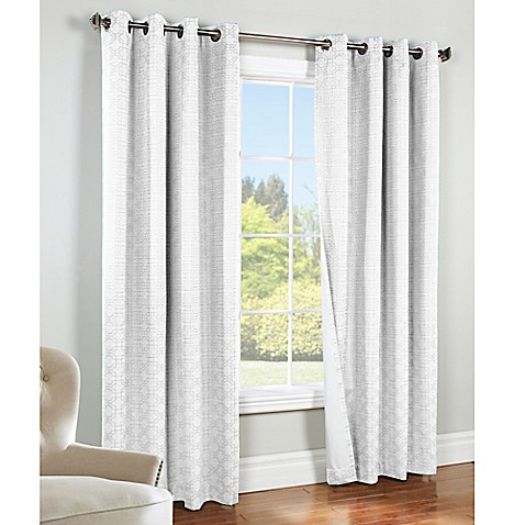 Buy Commonwealth Home Fashions Irongate 84 Inch Insulated Blackout Grommet Window Curtain Panel