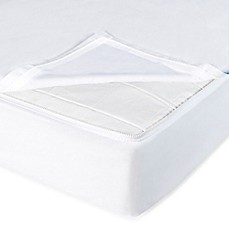 image of QuickZip® Crib Sheet System in White