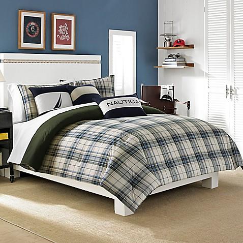 Nautica 174 Blake Comforter Set In Blue Bed Bath Amp Beyond