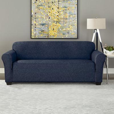 Sure Fit Designer Denim Furniture Slipcover Bed Bath Beyond