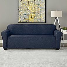 Sure Fit® Designer Denim Furniture Slipcover