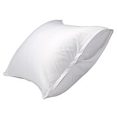 image of Healthy Nights™ Cotton Stain Repel & Release Pillow Protector