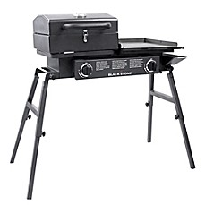 Outdoor gas grills charcoal grills electric smokers bed bath blackstone 1555 tailgator combo gas grill and griddle fandeluxe Choice Image