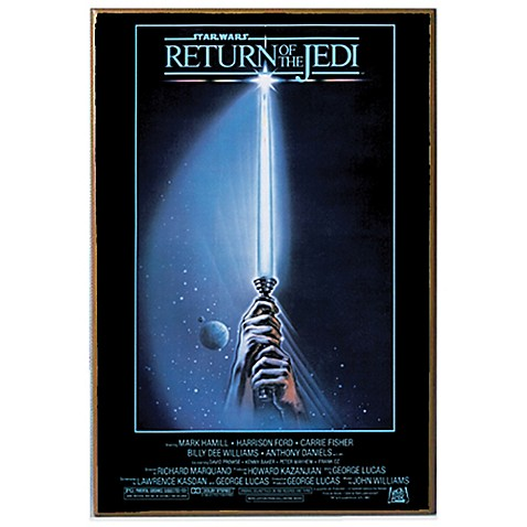 Image Of Star Wars™ Return Of The Jedi Movie Poster Wall Décor Plaque
